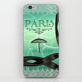 Paris... Je t'aime iPhone Skin