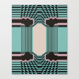 Gatsby by Michelle Weinberg Soft Research Canvas Print
