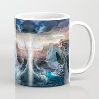 island Mugs featuring Island by Veronique Meignaud MTG