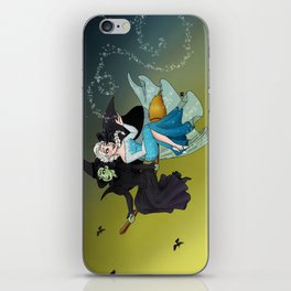 Defying Gravity and Let It Go  iPhone Skin