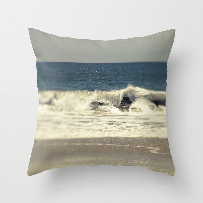 Indigo Blue Throw Pillow : Indigo Blue Ocean Throw Pillow by purenaturephotos Society6