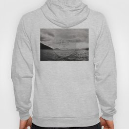 life is either a daring adventure ... or nothing Hoody