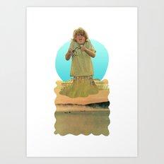Crabby Boy Art Print