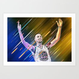 S. Curry Art Print