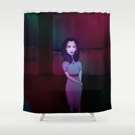 Candle Lark Shower Curtain
