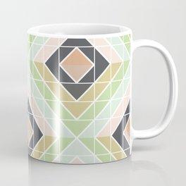 Retro Mod Diamonds Coffee Mug