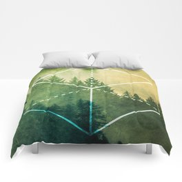 The Elements Geometric Nature Element of Earth Comforters