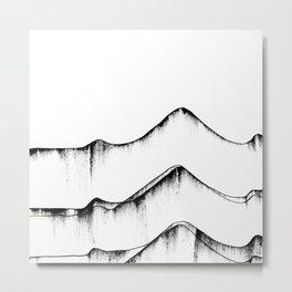 fizzing lines II Metal Print