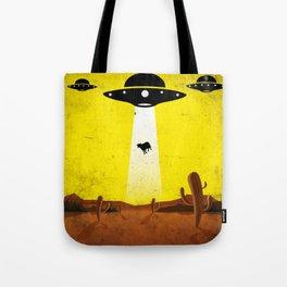 U F O l o g y // by B20200 Tote Bag