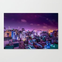 Oh Chi Minh City Canvas Print
