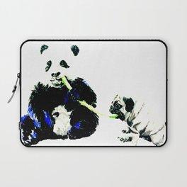 Pug and Panda Laptop Sleeve