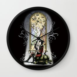 """""""You're Running out of time, my dear."""" - Twisted Wonderland Wall Clock"""