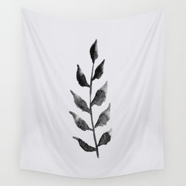 Baesic Mono Floral (Leaf 2) Wall Tapestry