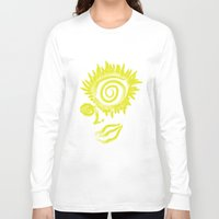 trippy Long Sleeve T-shirts featuring Trippy Talula by Gira Patel