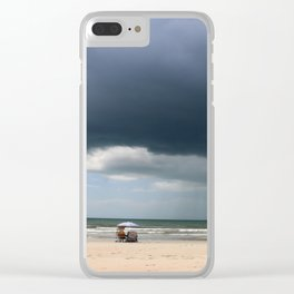 A Peaceful Day At The Seaside Clear iPhone Case