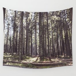 the sound of the forest Wall Tapestry