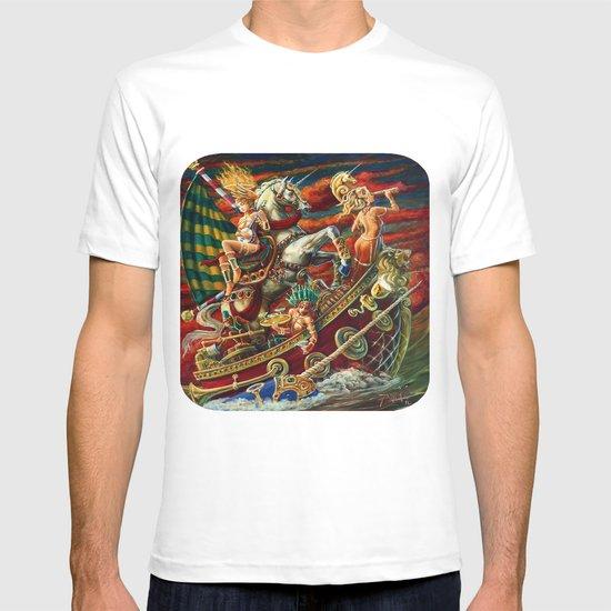 Party Boat to Atlantis T-shirt