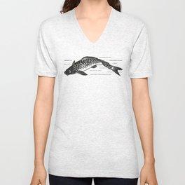 Koi Japanese fish Unisex V-Neck