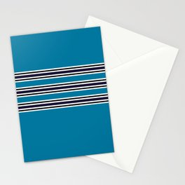 Classic Polo Stripe  Stationery Cards