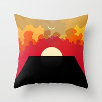 2001 Throw Pillows featuring 2001 Monolith by Andras Wobe Kocsis