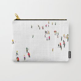 Ice skating rink Carry-All Pouch