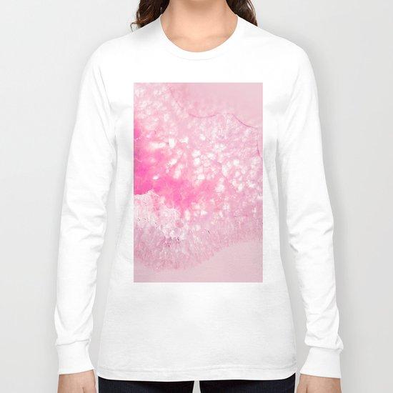 Pink Ice Long Sleeve T-shirt