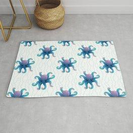 Octopus Friend_ Pattern Rug