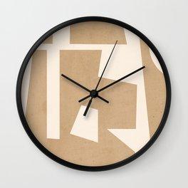 Minimal Abstract Art 30 Wall Clock