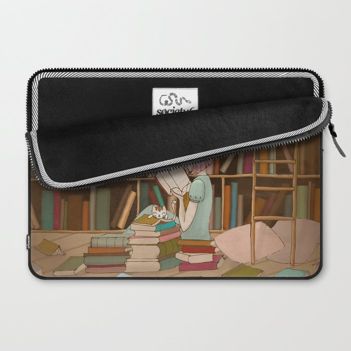 I Love Books Laptop Sleeve