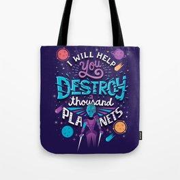 A Thousand Planets Tote Bag