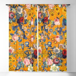 Summer Botanical Garden IX Blackout Curtain