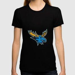 Bull Moose Head Mascot T-shirt