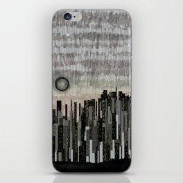 Silent City iPhone Skin
