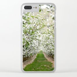 Orchard in Bloom Clear iPhone Case