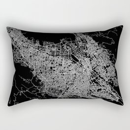 san jose map Rectangular Pillow