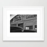 pocket fuel Framed Art Prints featuring Fuel by TB Photography
