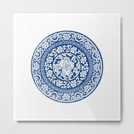 Chinese Lucky Circle Metal Print
