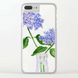 Singin' The Blues Clear iPhone Case