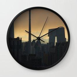 Western Sky, Beijing Wall Clock