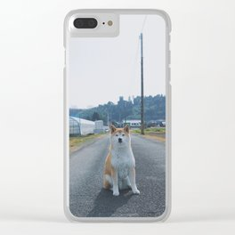 Kit In The Country Clear iPhone Case