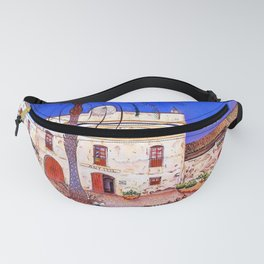 Joan Miro House with Palm Tree Fanny Pack