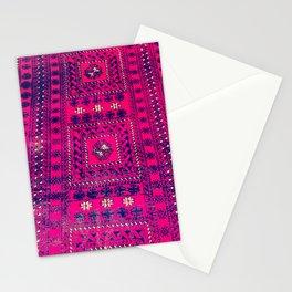 vintage Turkish rug Stationery Cards