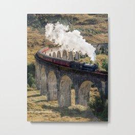 Hogwarts Express,vertical Metal Print