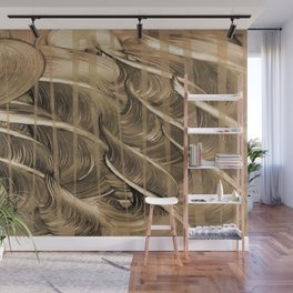 Hades Golden Flocks Wall Mural