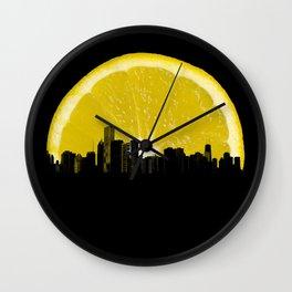 super lemon Wall Clock