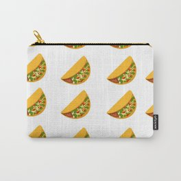 Taco Pattern Carry-All Pouch