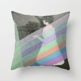 Into The Groove Throw Pillow