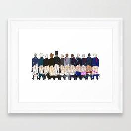 President Butts LV Framed Art Print