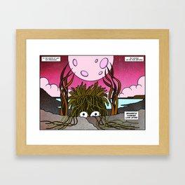 Seaweed's Forever Love Letter Framed Art Print