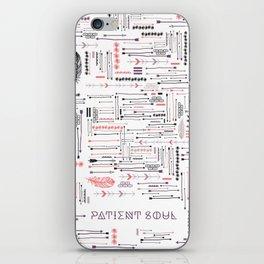 Patient Soul iPhone Skin
